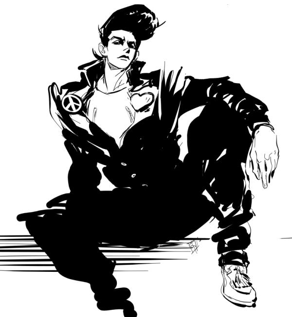 Josuke Higashikata By Twopunch On DeviantArt