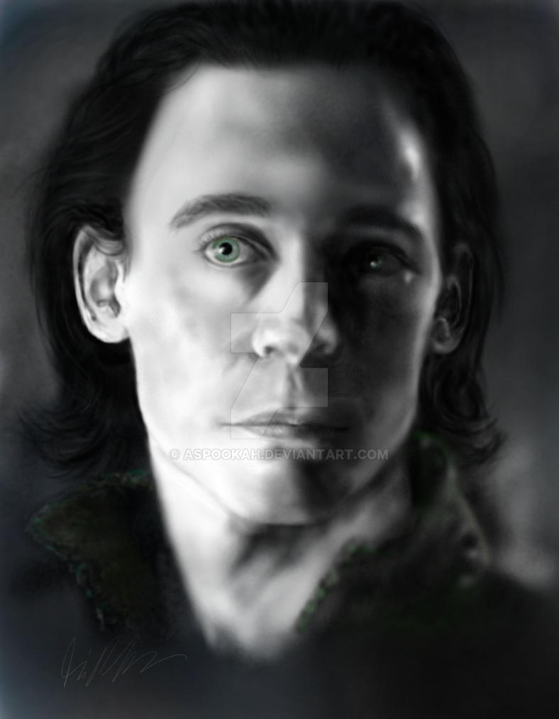 Loki by aspookah