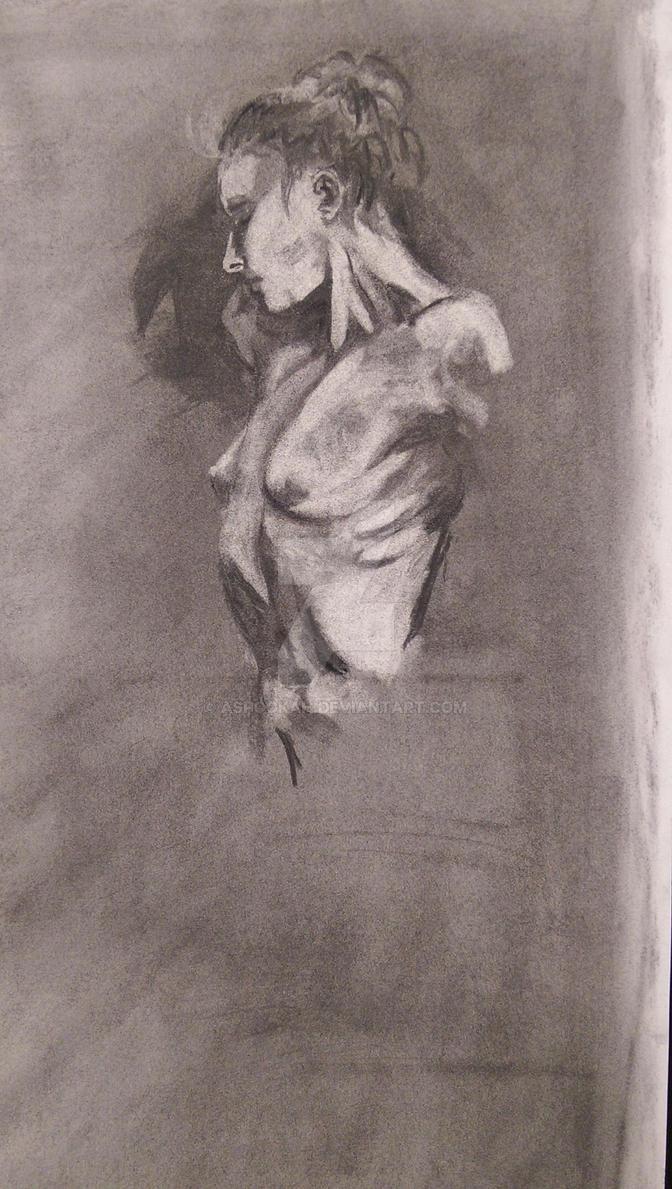 Nude Study by aspookah