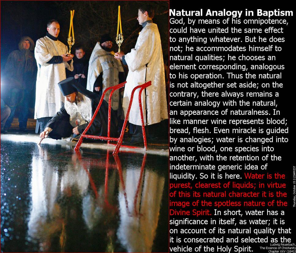 Natural Analogy in Baptism (Dark)