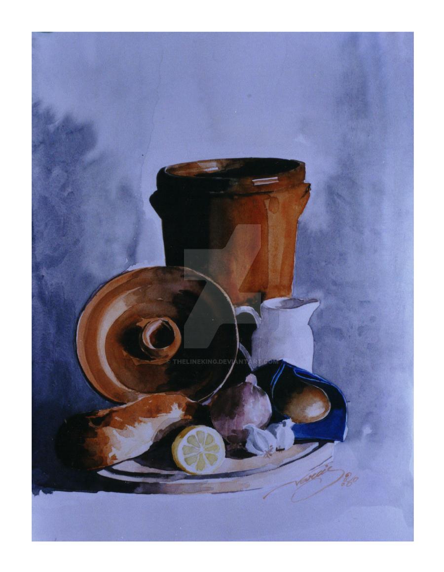 watercolour-still life