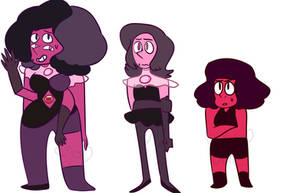 Rhodonite Fusion by CometCrumbbs