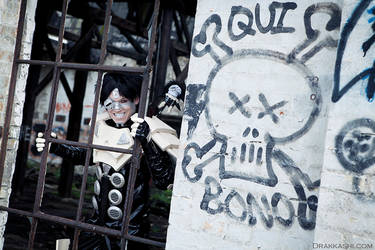 Cosplay Photoshoot - Sechs: Battle Angel Alita (9)
