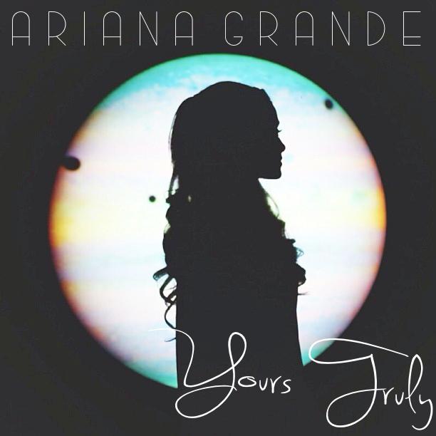 lilbadboy0: Album Cover: Ariana Grande - Yours Truly ...  Yours Truly Ariana Grande Album Cover