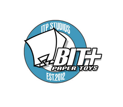 New BIT+ Paper Toys Logo by IdeatoPaperStudios