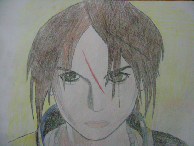 Squall Leonhart Final Fantasy by relentlessrevolver