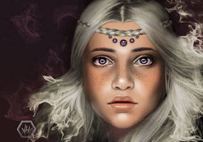 Violet Eyes by alannahowe