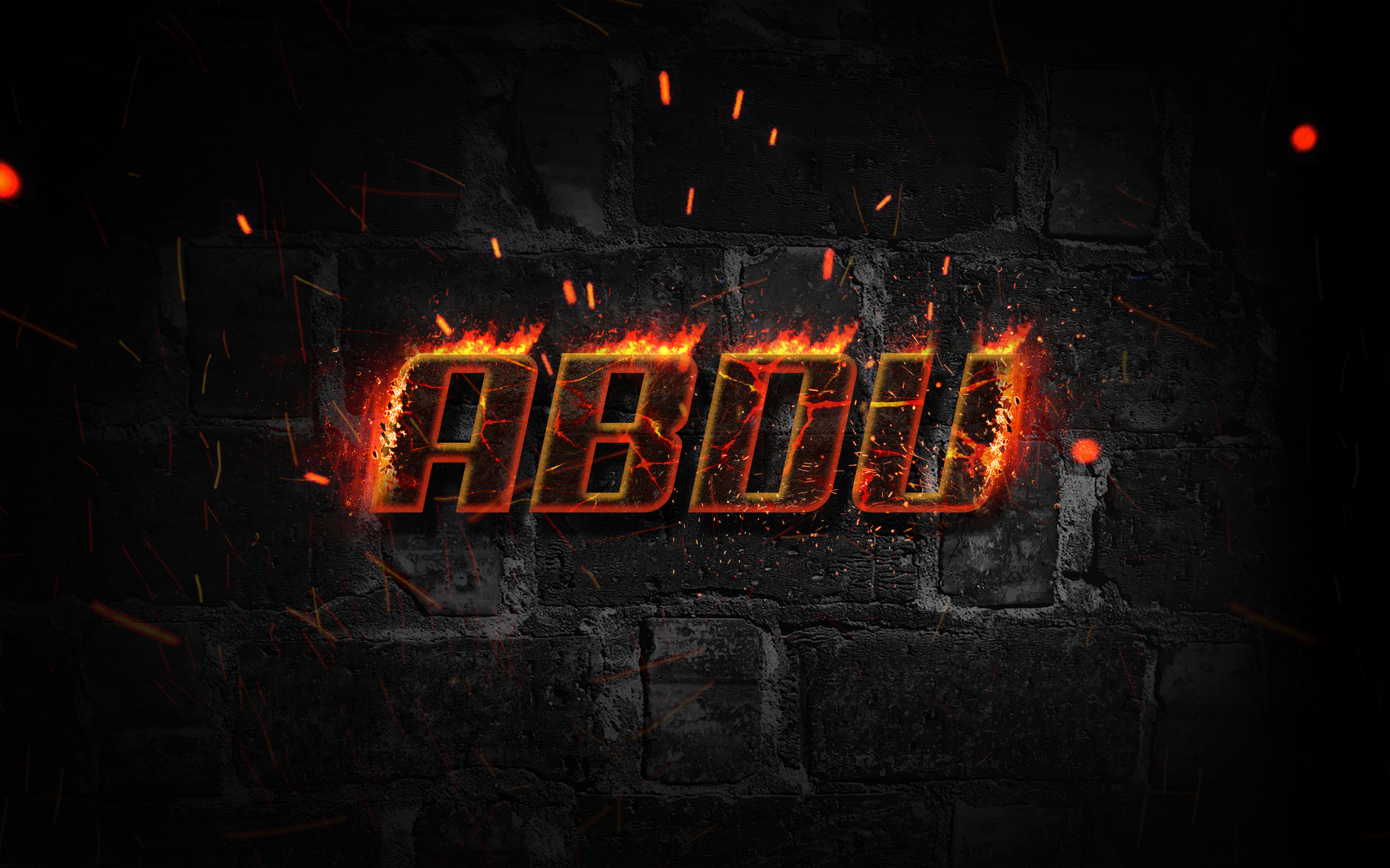 Photoshop Tutorial Fire Text Effect Simple Easy by