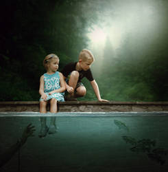 Dark Water Manipulation Tutorial by abduboxmedia