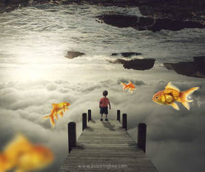 Tutorial : Inception Of The Life Above The Clouds by abduboxmedia