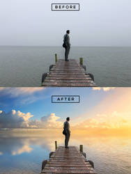 Sky Overcast Photos into Awesome in Photoshop by abduboxmedia