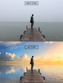 Sky Overcast Photos into Awesome in Photoshop