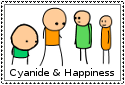 Cyanide and Happiness - Stamp by Geass38
