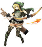 Elf from Dragon's Crown