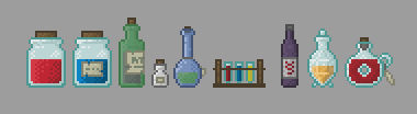 Bottles and Potions