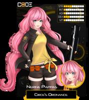 [Code-8] Nerine Papadiamantopoulos by Aetlas