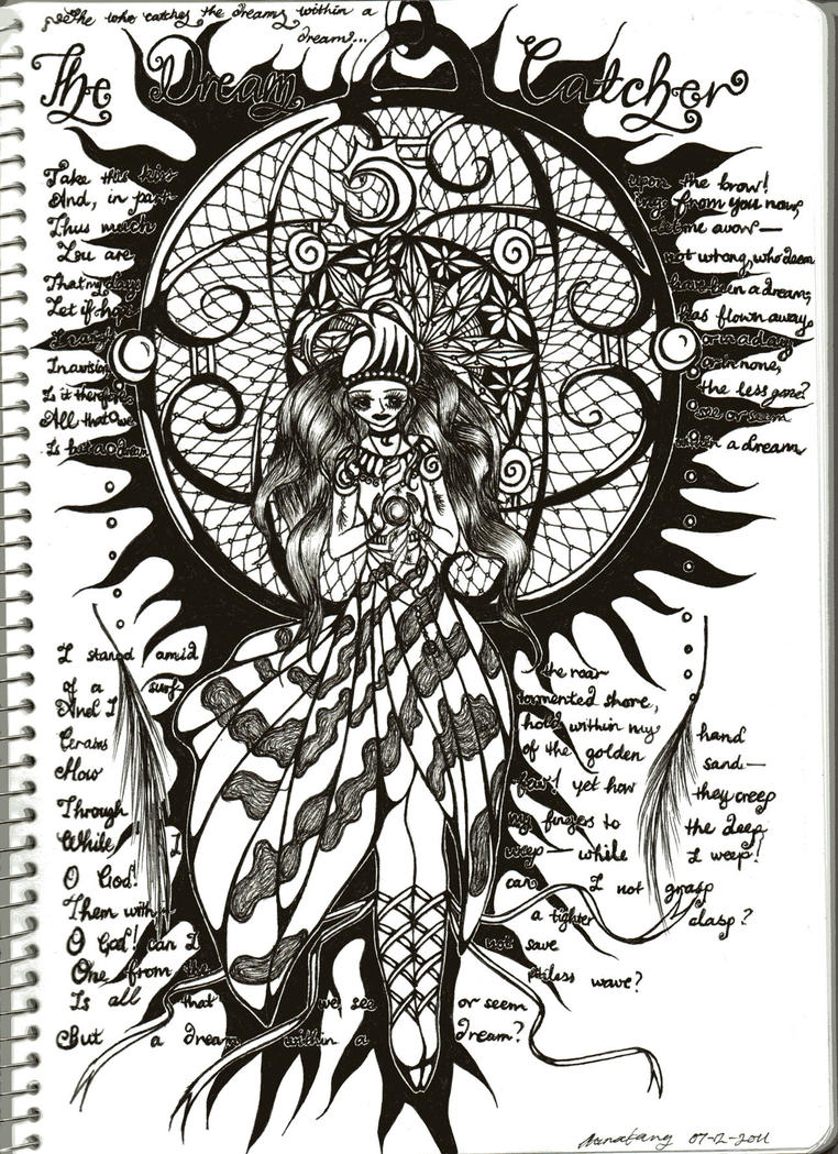 Dream Catcher  she who catches Dreamcatcher Poems