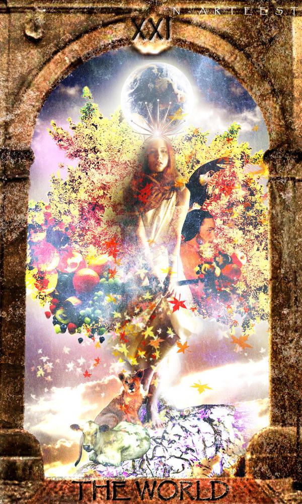 The World (Tarot) By N-arteest On DeviantArt