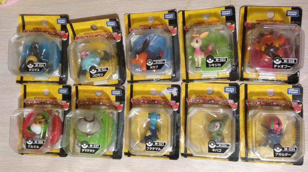 Takara Tomy Pokemon Figures For Sale 3 By Stephobetch On Deviantart