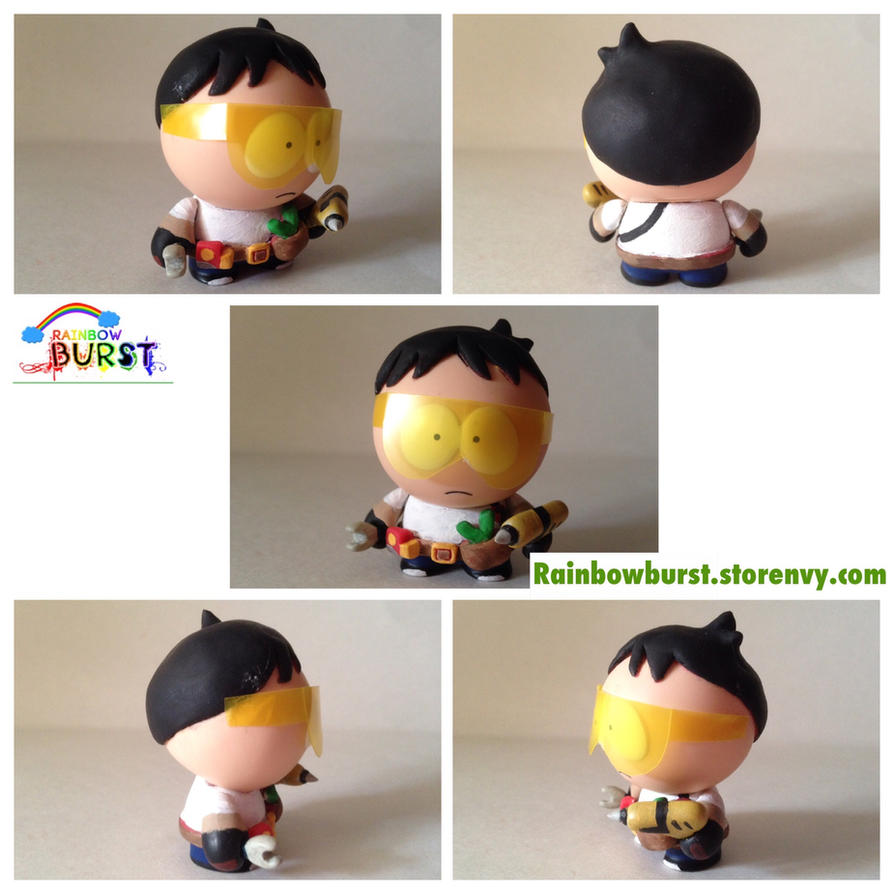 Toolshed South Park Custom Figure by stephobetch