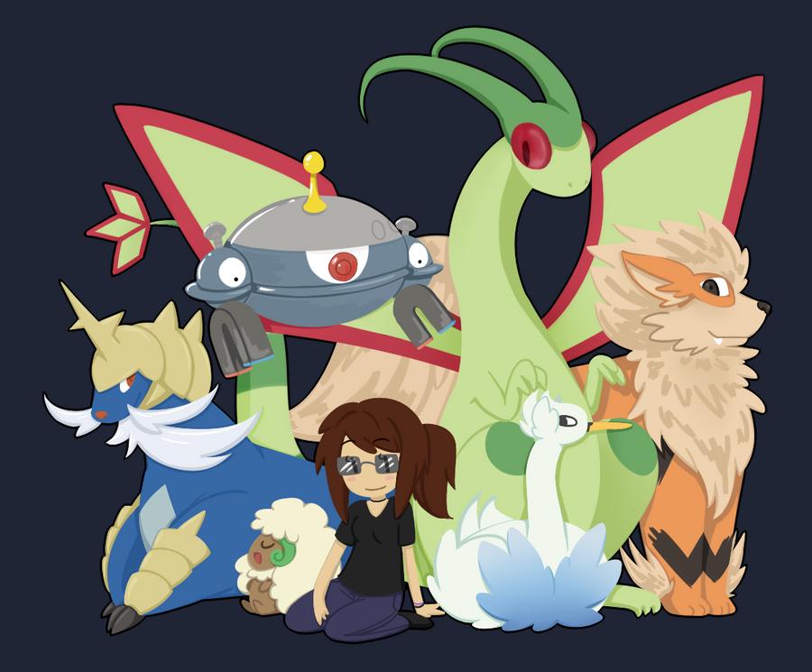 Nate Pokemon Team Images | Pokemon Images