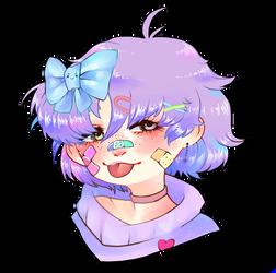 Pastel girl by LokMaar