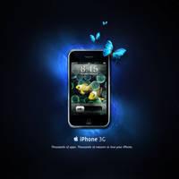 Space or water iPhone by gemicek