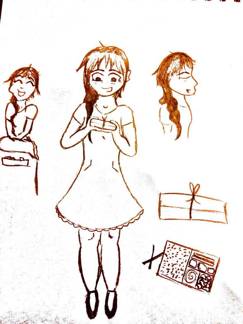 Little Girl Kay by Doodlepop212