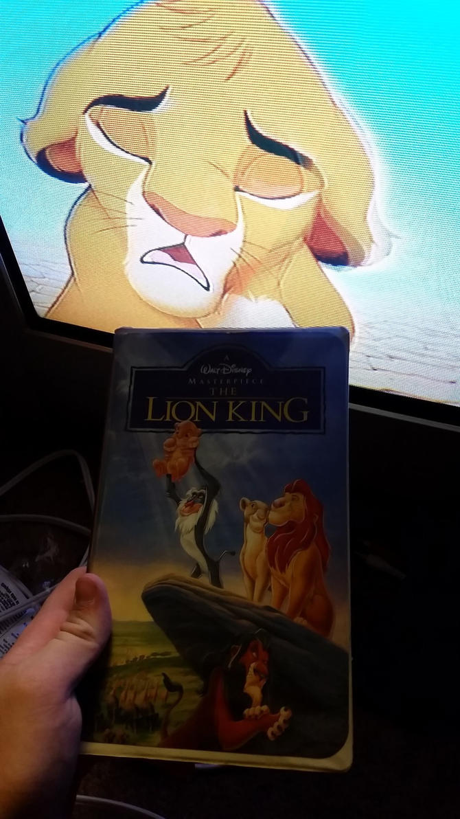 my vhs collection 15  the lion king 1995 vhs by scamp4553