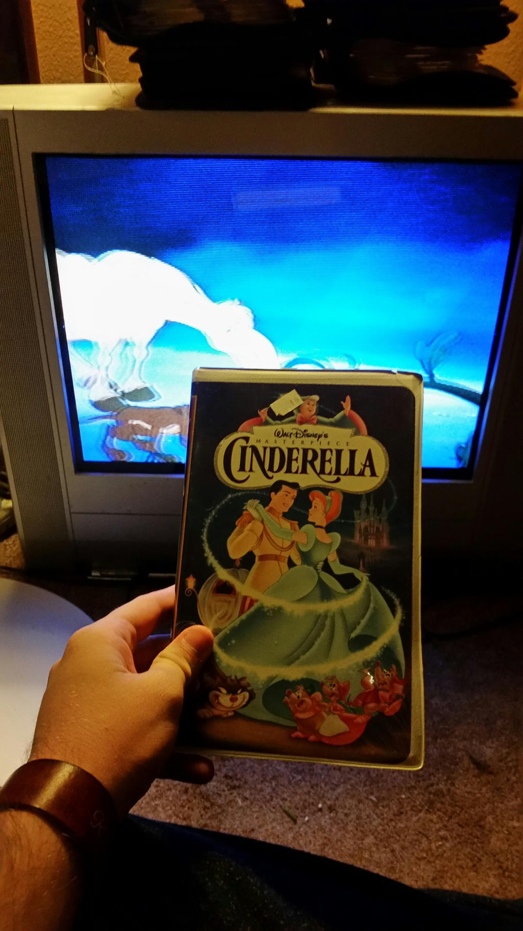 my vhs collection 18  cinderella 1995 vhs by scamp4553 on deviantart