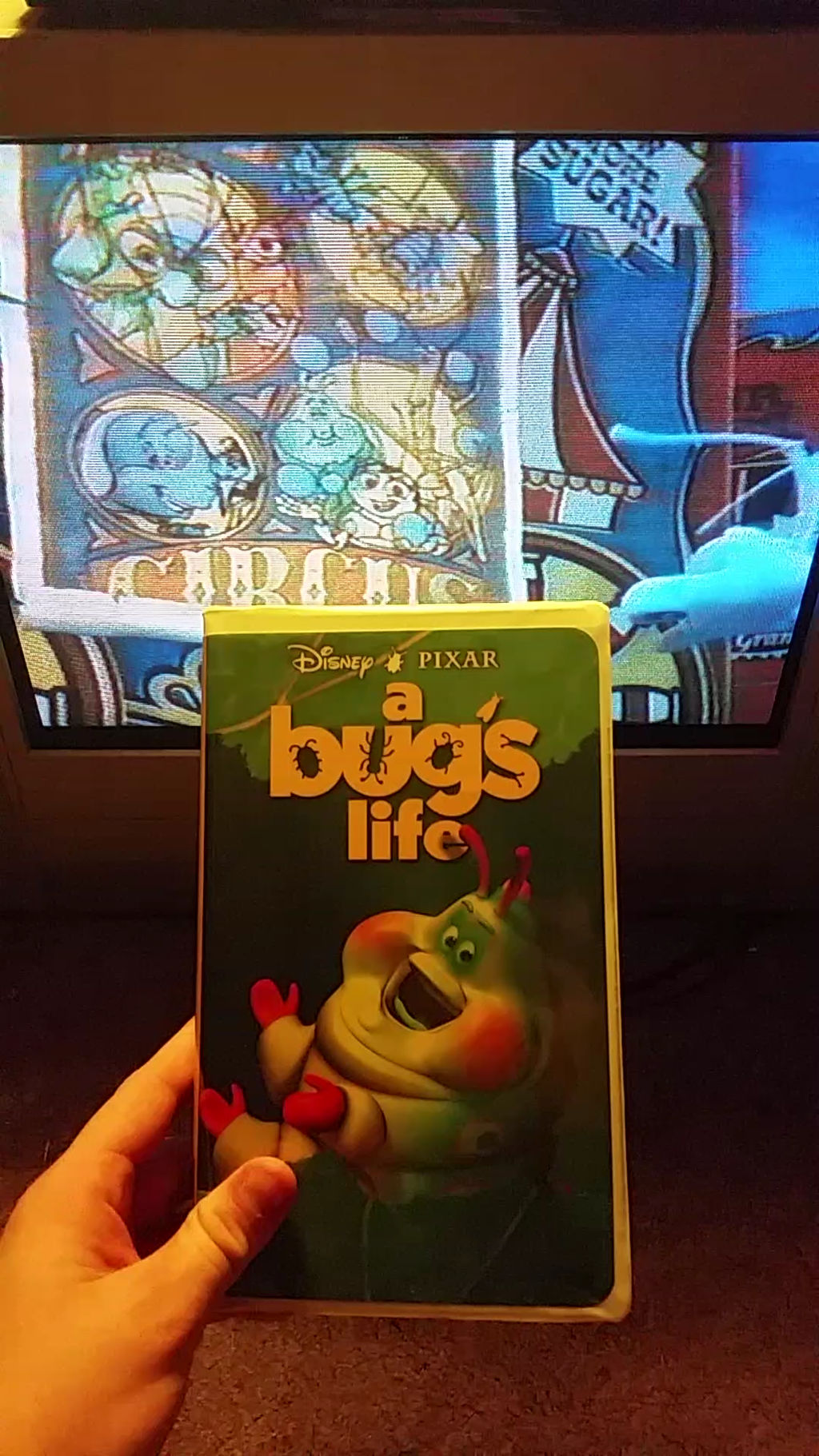 My Vhs Collection 64 A Bug S Life 1999 Vhs By Scamp4553 On Deviantart