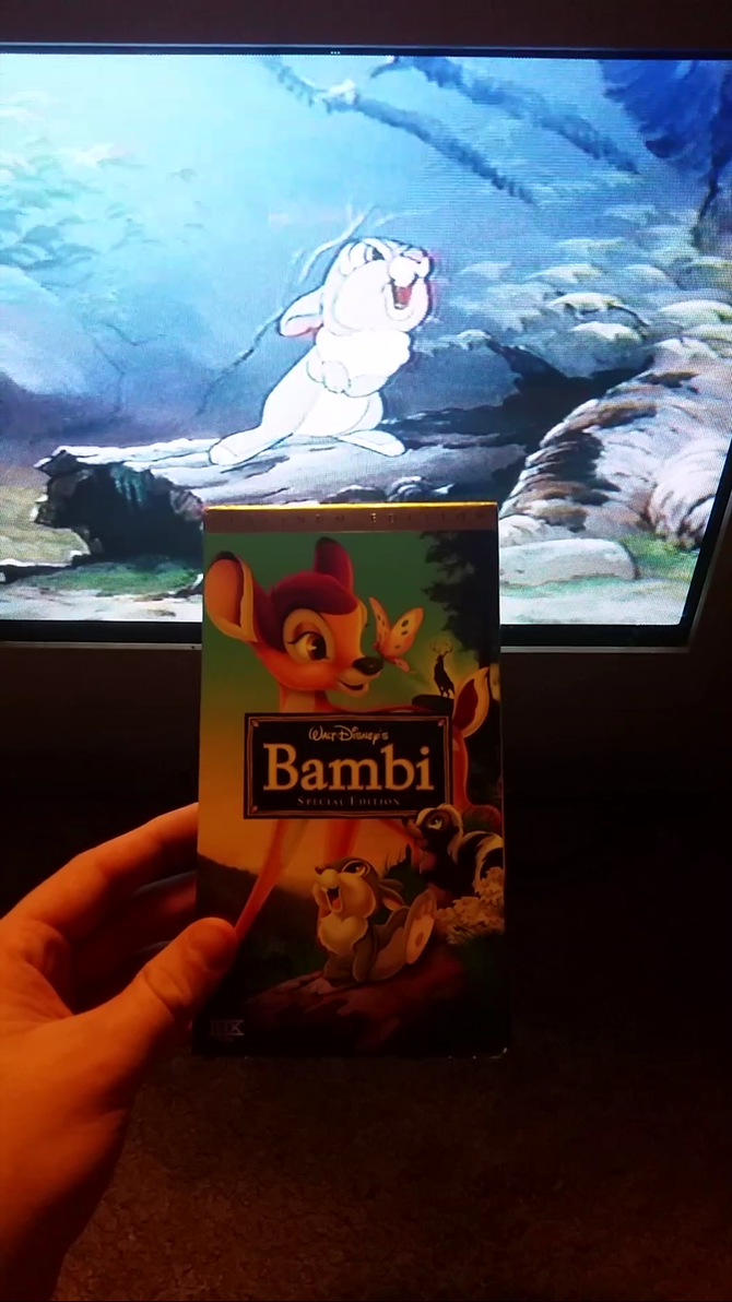 my vhs collection 66  bambi 2005 vhs by scamp4553 on