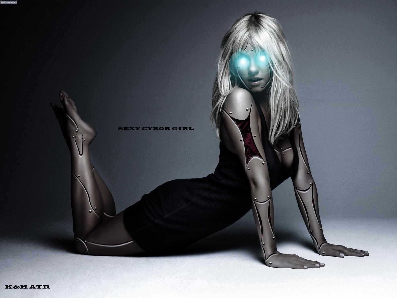 Секс девушка робот 16 фотография