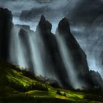 Italian Dolomites -Landscape Study
