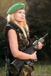 Military girl VII