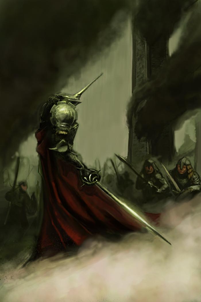 demon knight by gekitsu