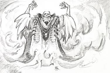 prospero conjuring the tempest by gekitsu