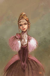 rpg character portrait: ariah