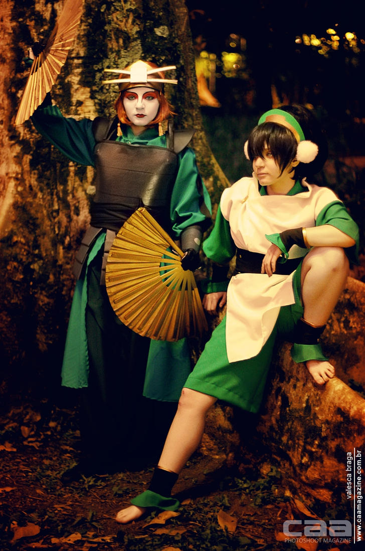 ATLA Cosplay by TaryBelmont and VamprincessThamy