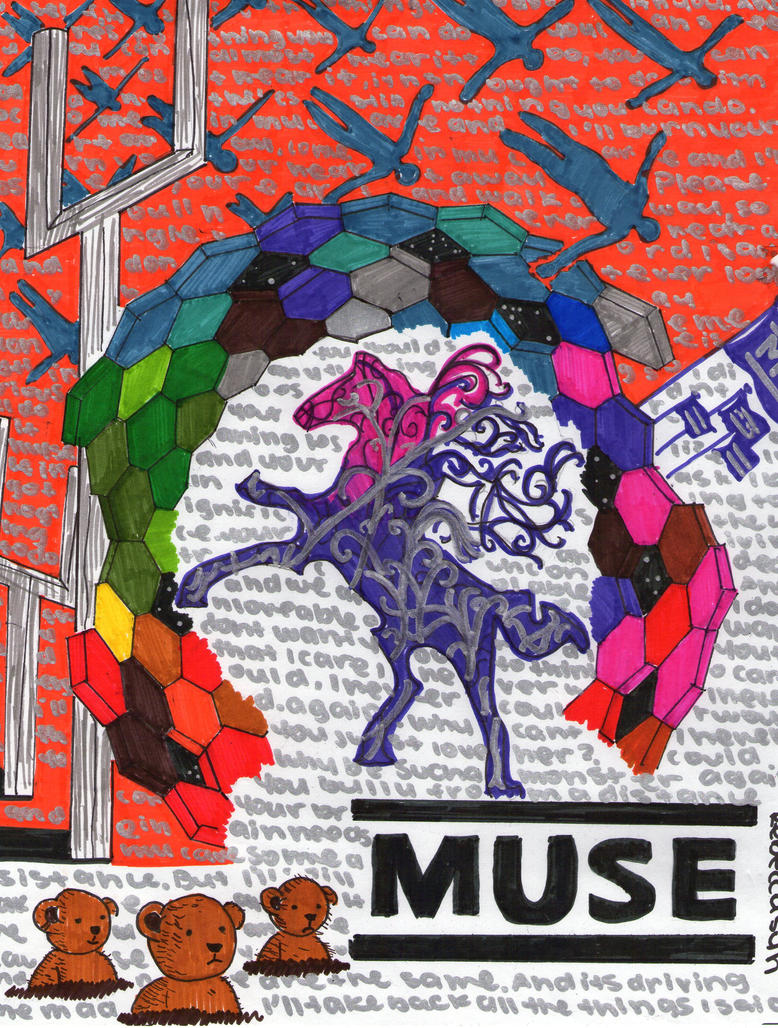 Muse Albums Collage by Gloriousmuser on DeviantArt
