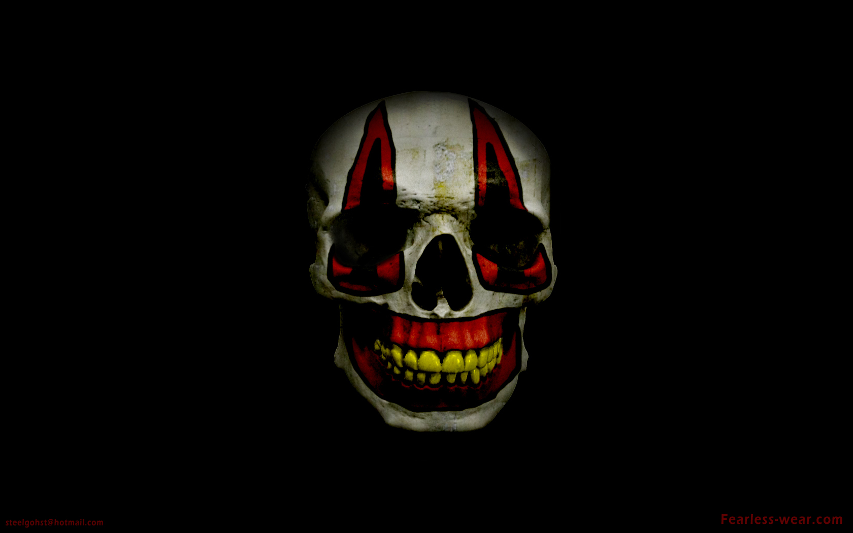 clown skull by steelgohst on DeviantArt