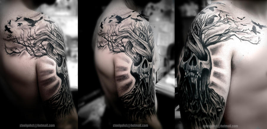 Scottish Half Sleeve Tattoo Designs