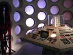 Vintage TARDIS console by Steelgohst