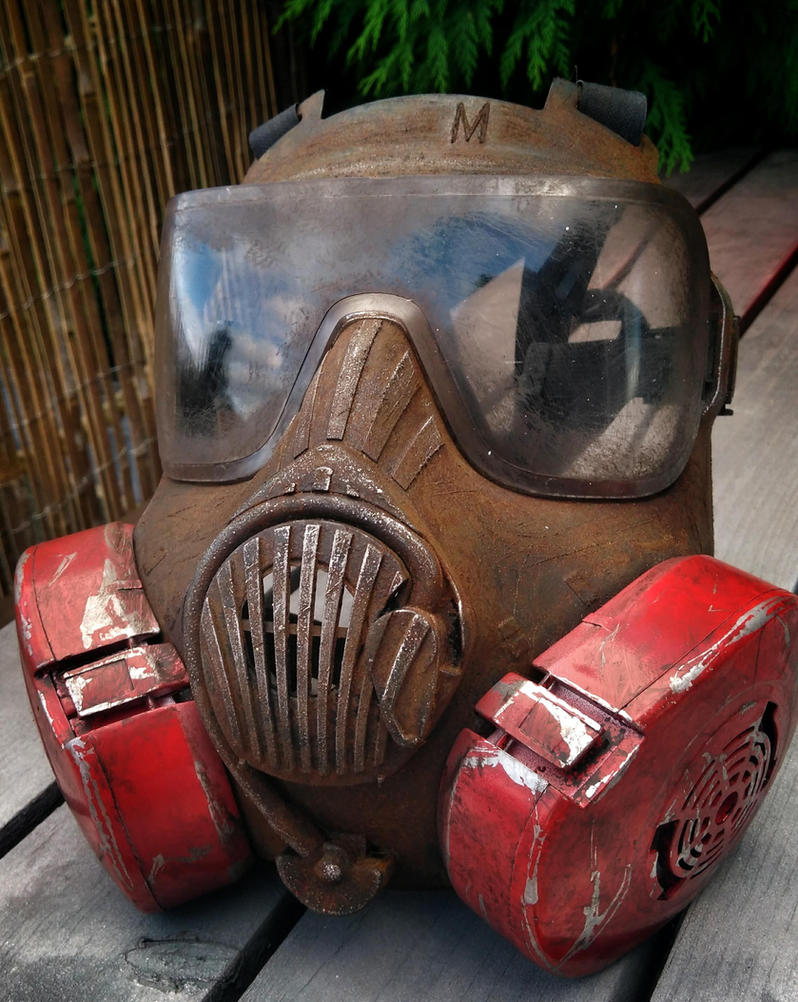 post apocalyptic 'gas mask' by steelgohst