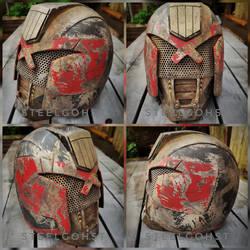 Cursed Earth Judges helmet