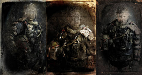 Cursed Earth Portraits By Steelgohst