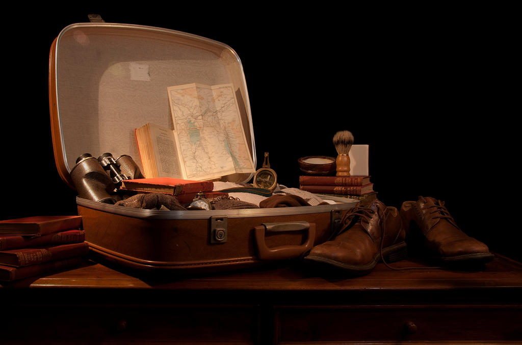Packing for Adventure by David-Lee-Evans