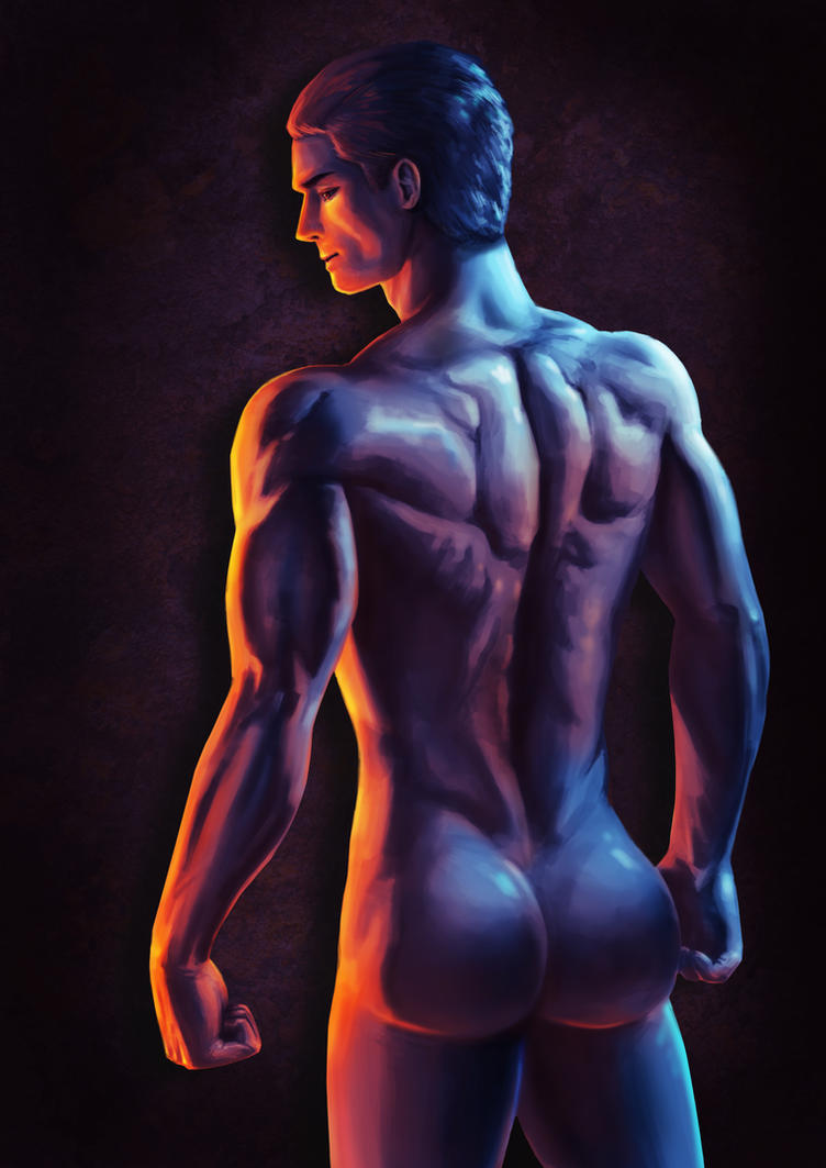 Back muscle study by DavikoC
