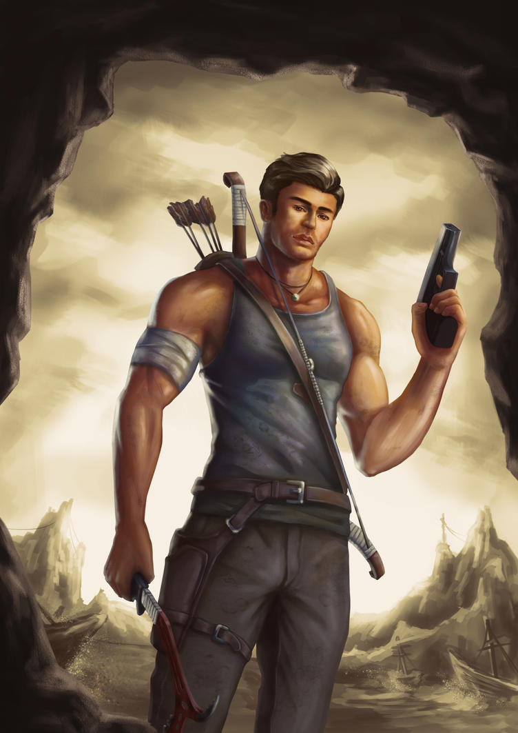 Tomb Raider (male version) color by DavikoC