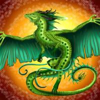 Dragon flight by Sunima